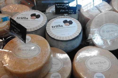 Cheeses from Bükk