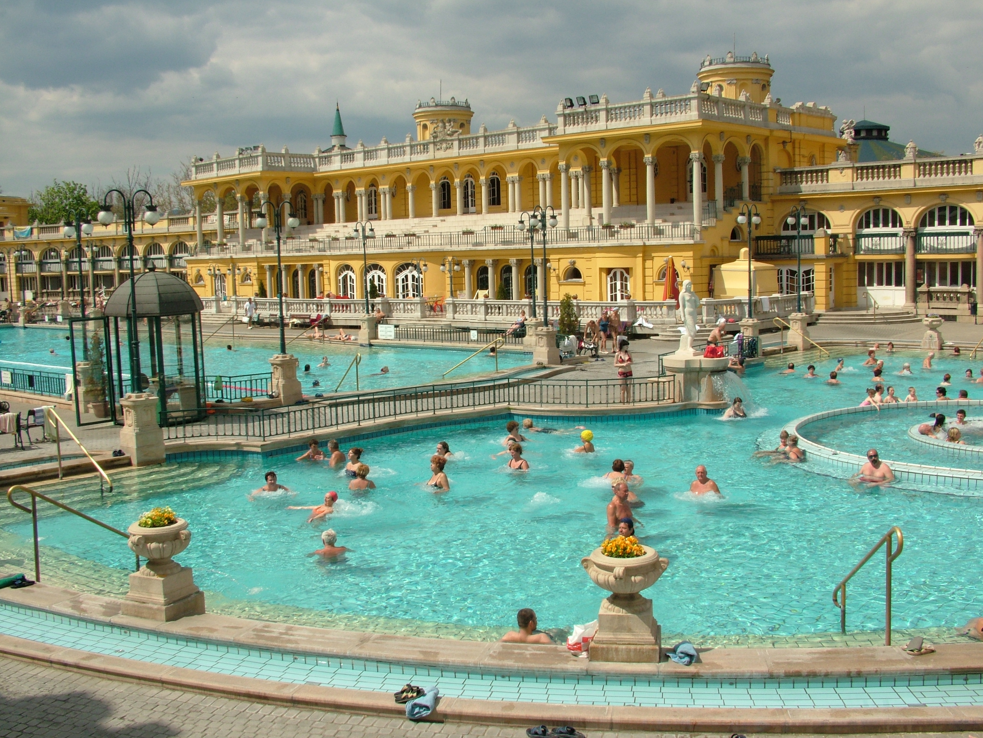 Top 3 Thermal Baths of Budapest - Food Tour Budapest