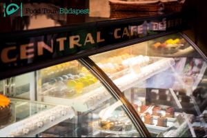 Central Café's cake selection