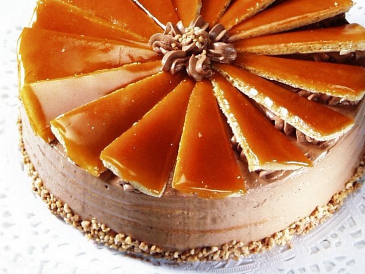 Butter Rum Caramel Cake