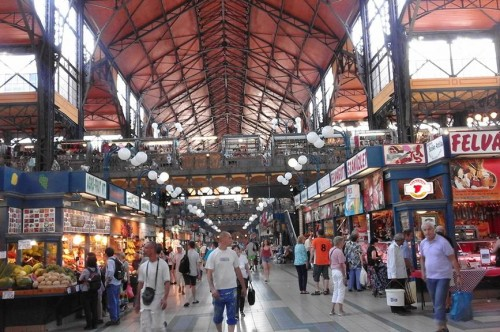 Great Market Hall, the heart of city for a food-lover
